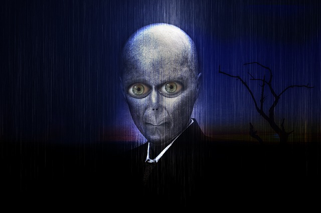 OSANPS are not quite the same as other people. Alien in a suit. CC0 from Max Pixel