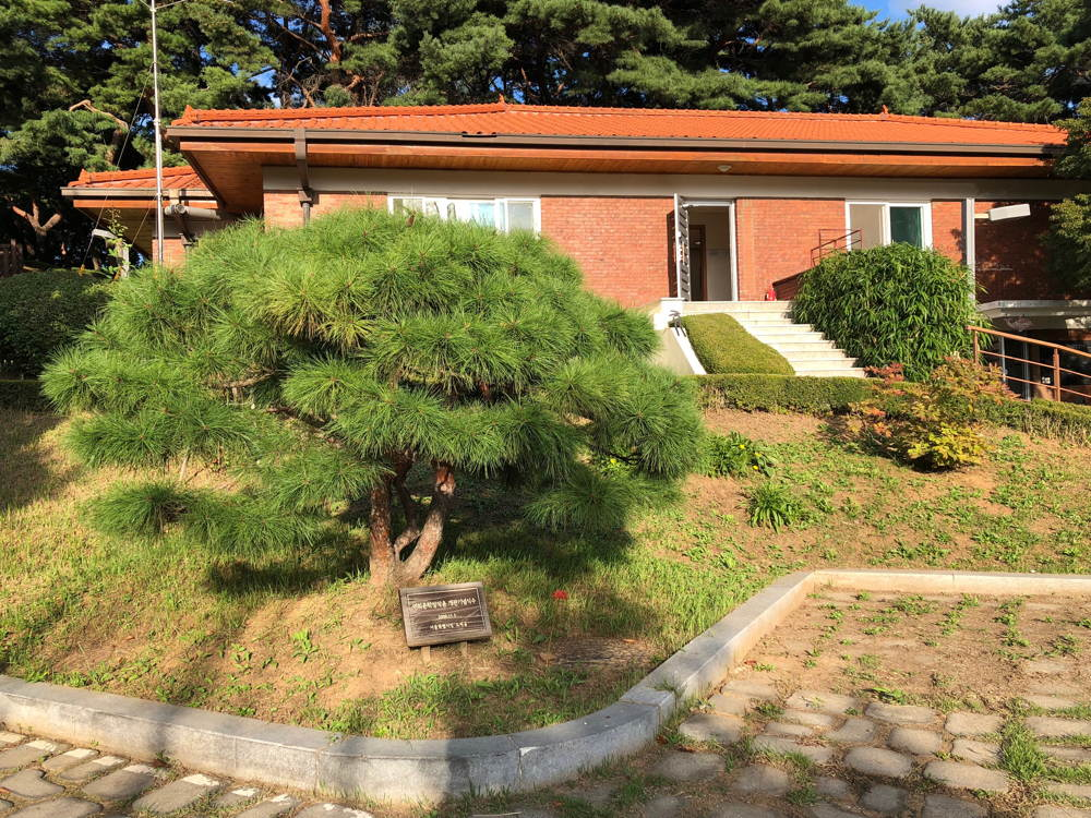One of four buildings at Seoul Art Space Yeonhui