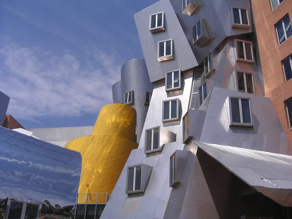 There are far more than six ways to organise the ideas in your blog post! Wacky structures can be wonderful too. MIT Strata Center, Massachussetts.