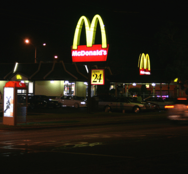 Old Maccas, 3.30am