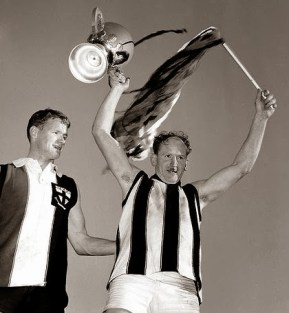 Pies take the 1966 flag. Oh...