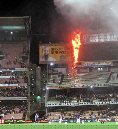 The '90's end in flames; Tigers v Blues R22, 1999