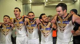 The Hawthorn Power Rangers celebrate another win