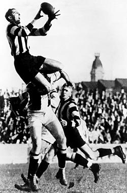 Ron Todd flies high