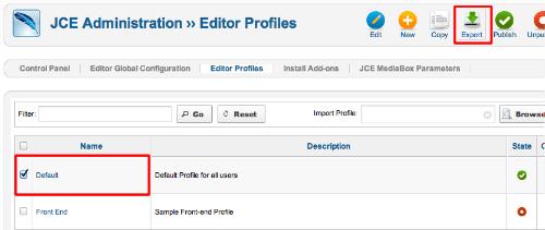 jce-profile-export