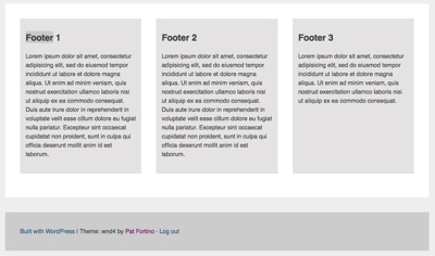 Equal Height Columns in WordPress