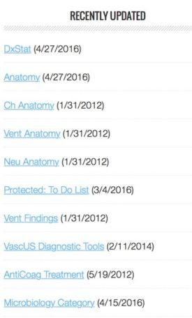 Recently Updated Posts List Exammple