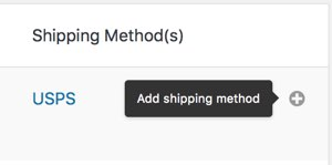 Add a Shipping Method to shipping zone