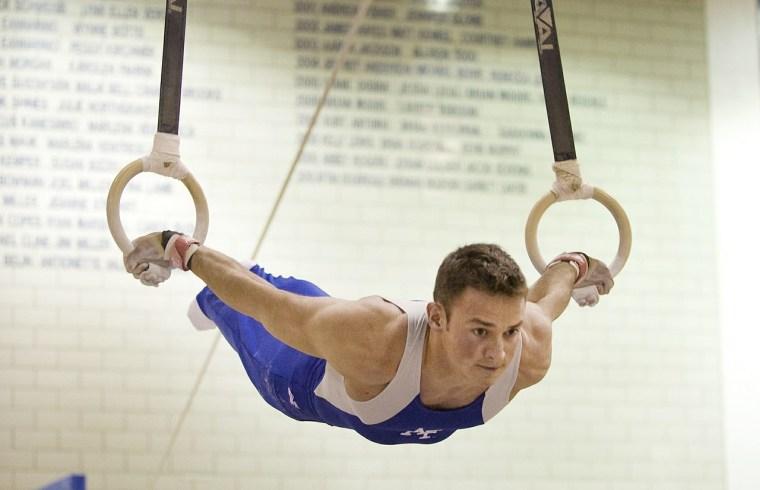 Janine Murray: the Australian rhythmic gymnast