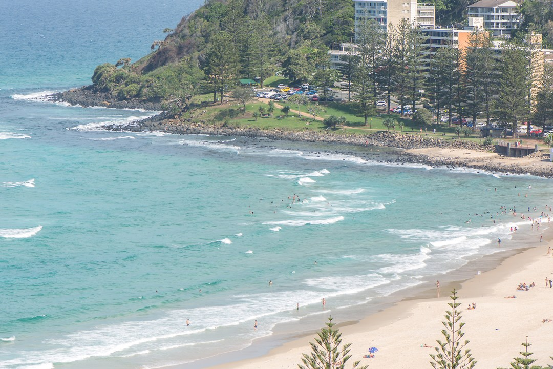 beach, burleigh heads, gold coast