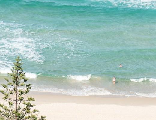 beach, burleigh heads, gold coast