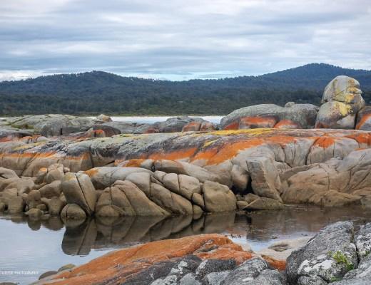 binalong bay, tasmania, bay of fires, rocks, binalong bay