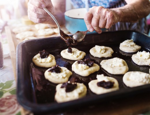 baking, grandma,