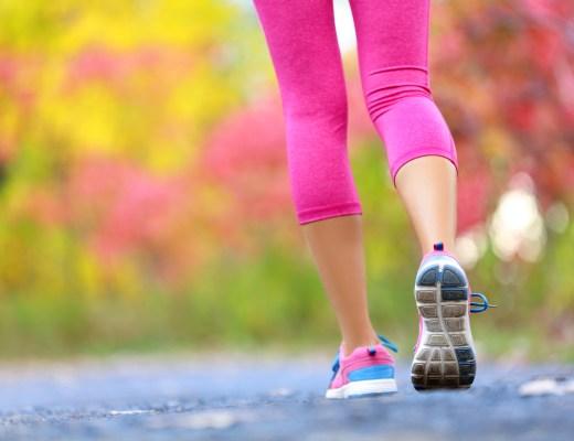 woman, jogging, walking,