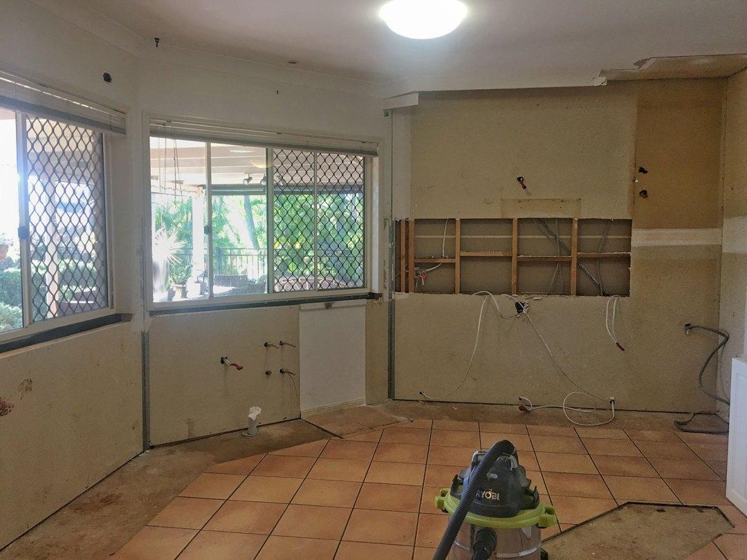 kitchen demolition, demolition,