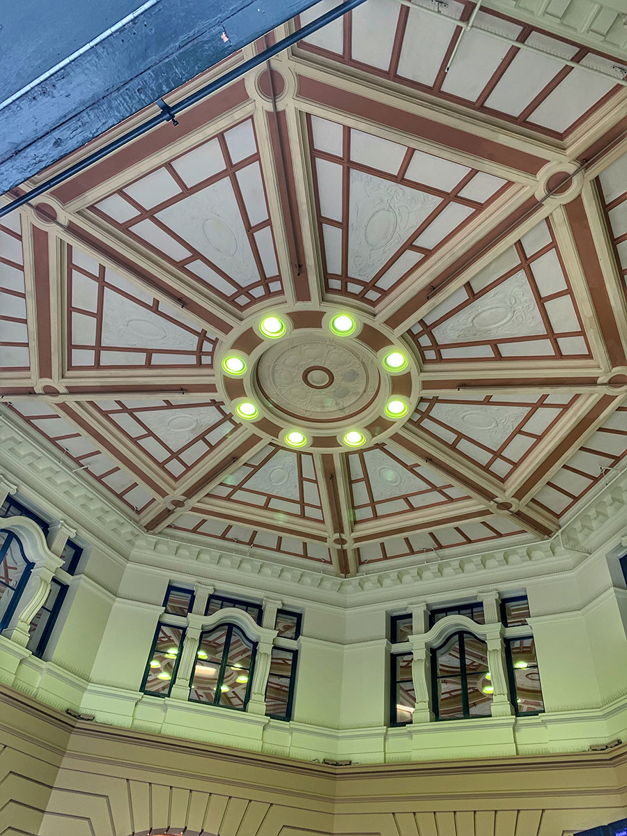 Flinders Street Station, Ceiling, Architecture,