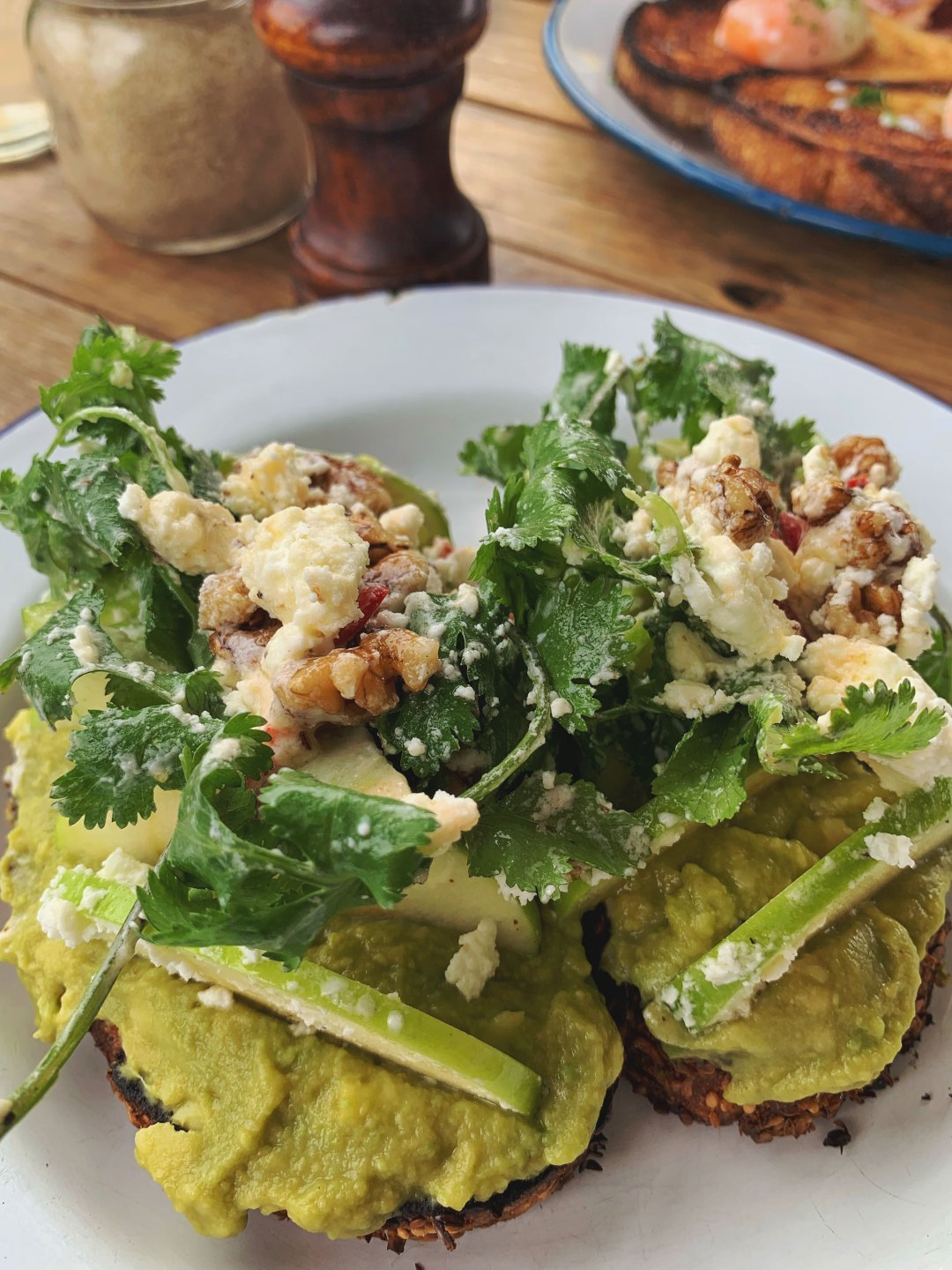Smashed Avocado breakfast