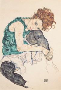 The Artist's Wife EGON SCHIELE