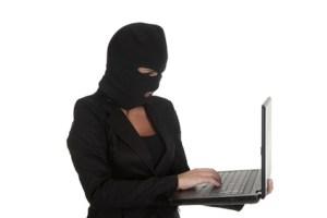 woman hacker