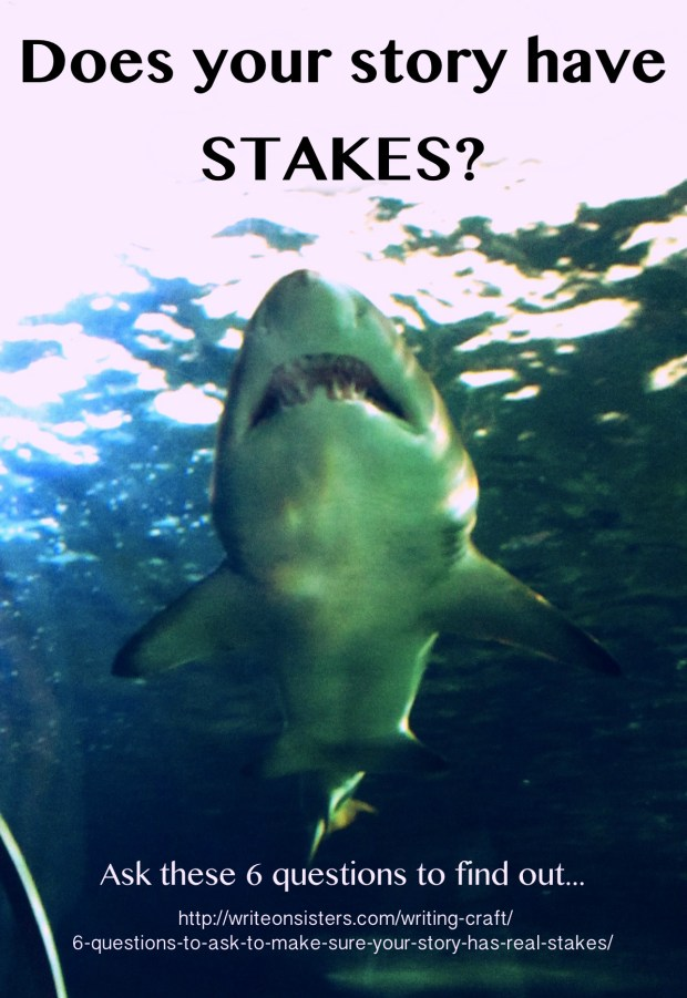 Story Stakes Shark