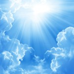 A Ray of Sunshine: When a Writer Has a Good Day (#abna)