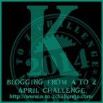 K is for Kindred Spirits: My Writer Pals