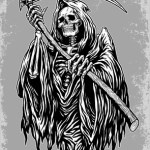 The Grim Reaper: The Universal Fear of Death, The Highest Stake for a Writer