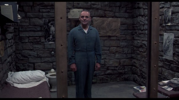 Unease is the creepy walk down the hall to Hannibal's cell.