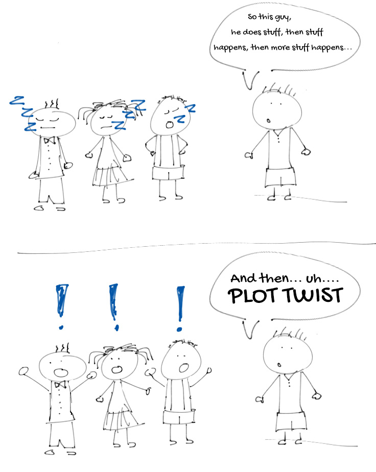 Plot Twist cartoon