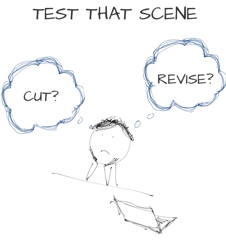 Test That Scene – Cut or Revise?