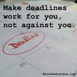 Deadlines: Helpful or Harmful?