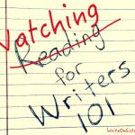 Watching for Writers 101: Flash Forwards