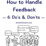 How To Handle Feedback: 6 Do's & Don'ts