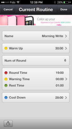 RoundTimer-Routine