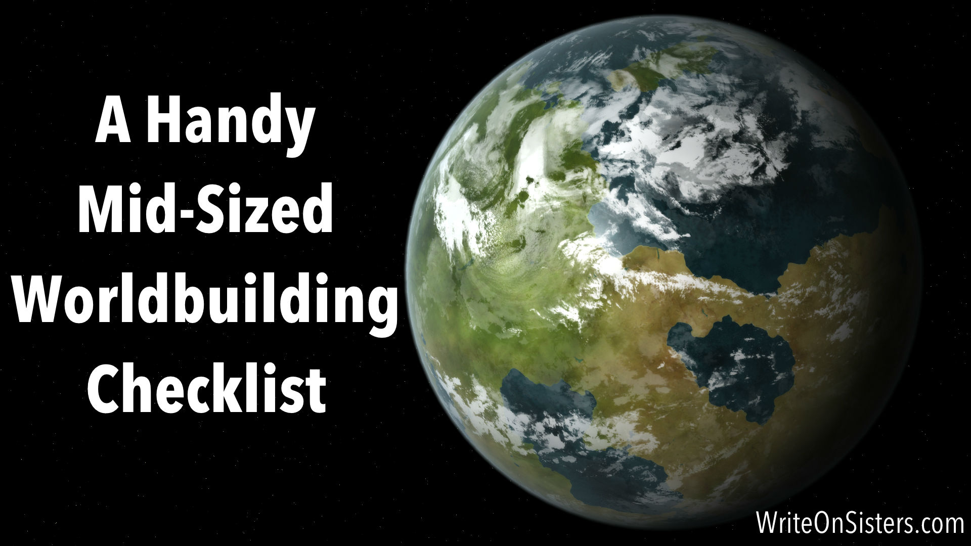 1 Key Question For Worldbuilding A Handy Checklist