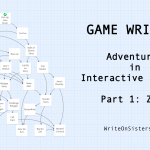GAME WRITING: Adventures in Interactive Fiction