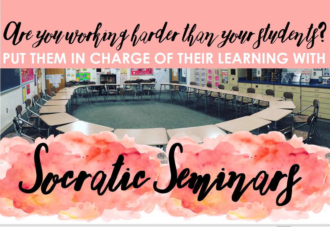 How to Facilitate Socratic Seminars in Secondary