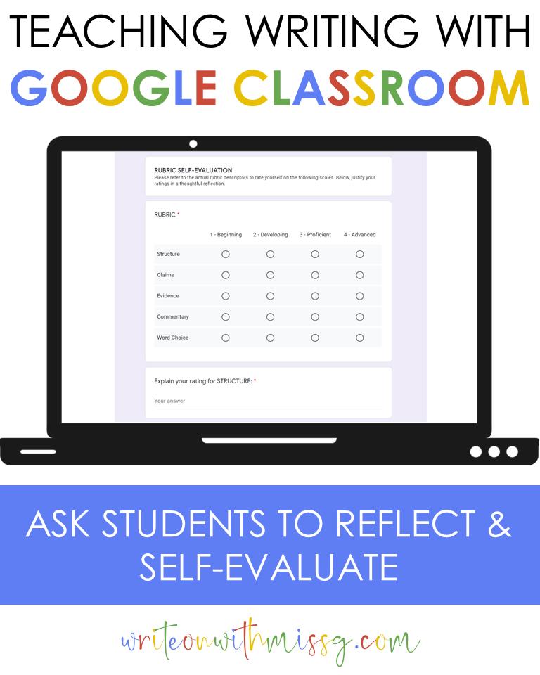 Self-Evaluation Google form