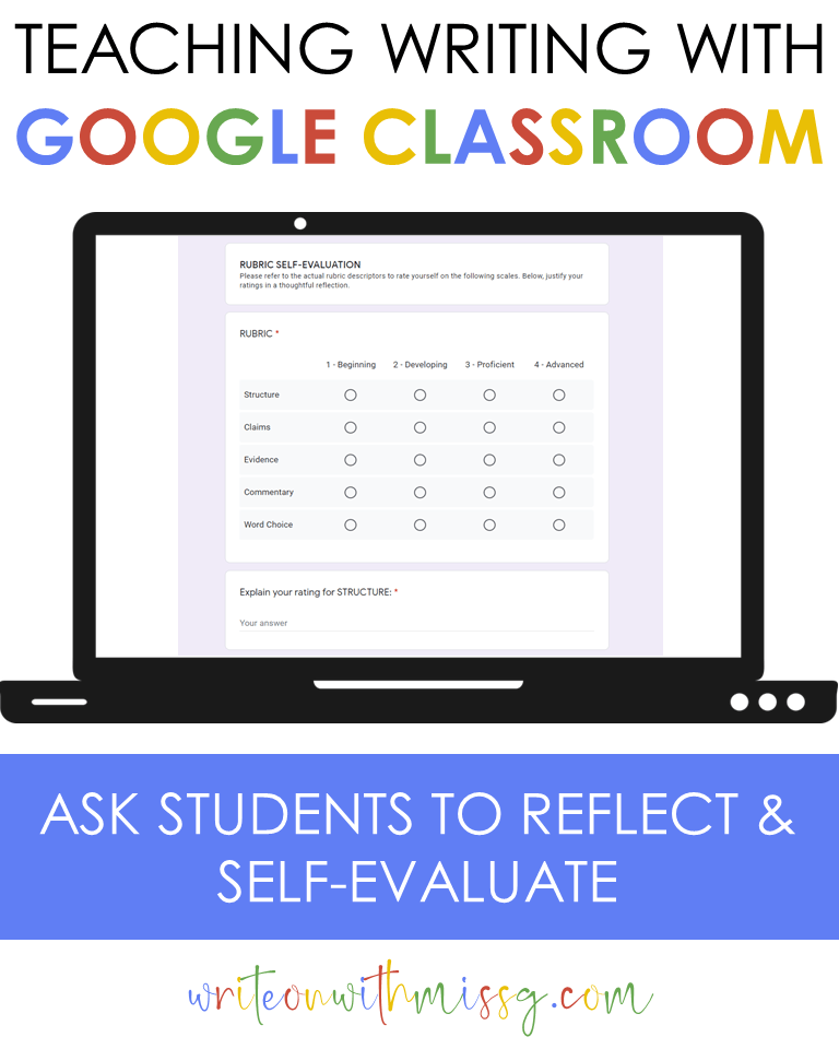 Self-Evaluation Google form