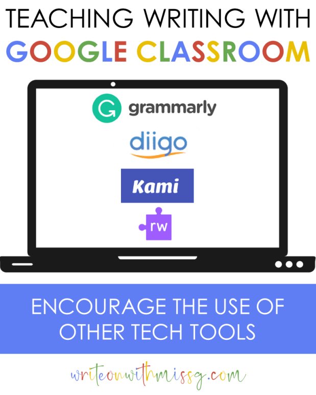 Grammarly, Diigo, Kami, and Read&Write