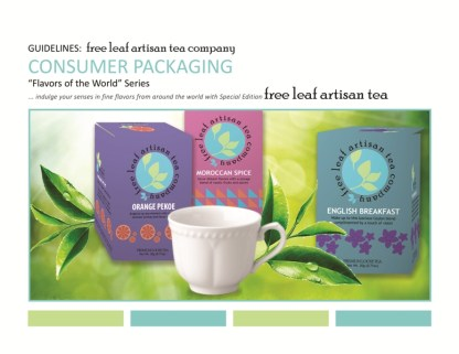 Branding Guidelines Pg. 6, Consumer Packaging Mockup by Christine G. Adamo of WriteReviseEdit.com