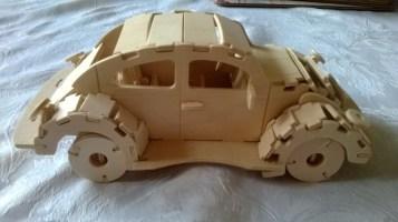 Wooden VW Bug RHS