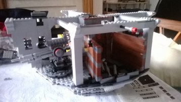 After completion of box 1 of 4. From https://writerfighter.wordpress.com/2014/02/22/lego-death-star-box-1-of-4-completed/