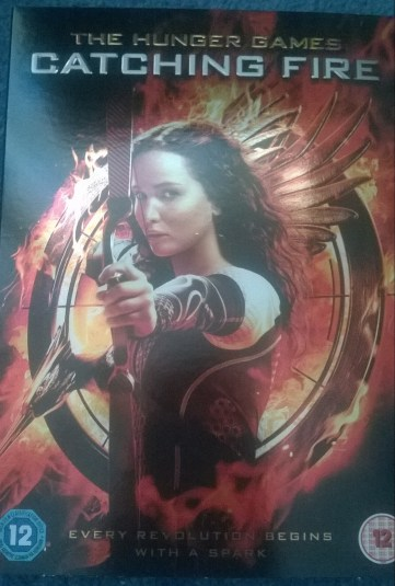 Hunger Games: Catching Fire DVD