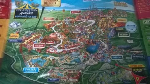 PortAventura Map