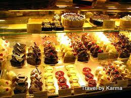 Dessert counter at Flurry's