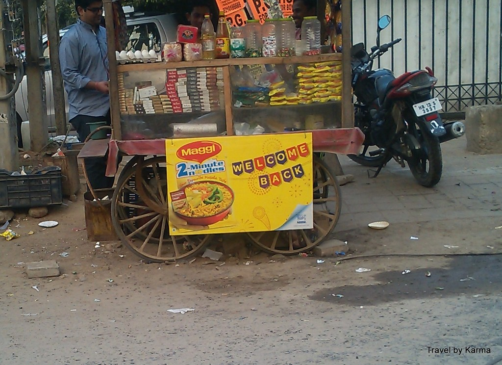 Maggi with chatpata office gossip