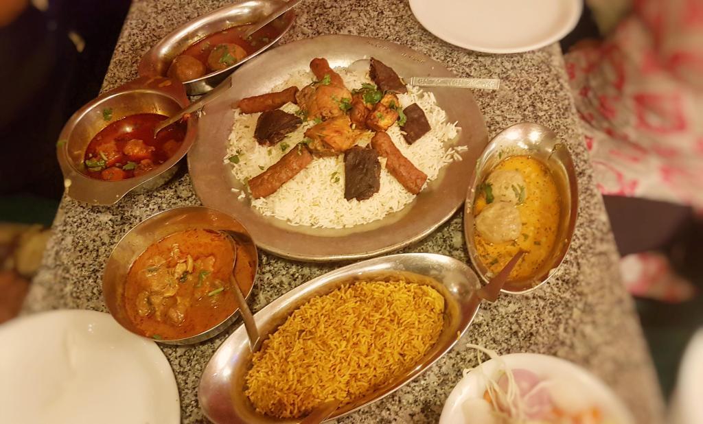 food around Srinagar