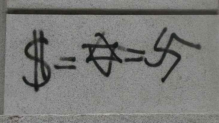 anti-semitism-graffiti