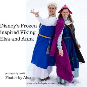 Viking Elsa costume; Viking Anna costume